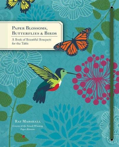Paper Blossoms - Butterflies & birds pop-up book