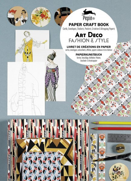 Paper Craft Book - Art Deco Fashion & Style
