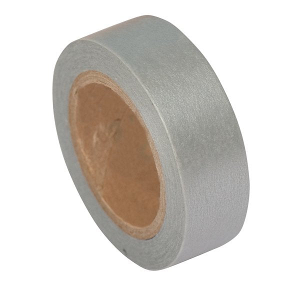 Masking tape 15mm - Paper Poetry - zilverkleurige tape