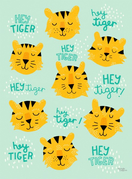 Poster - Hey Tiger