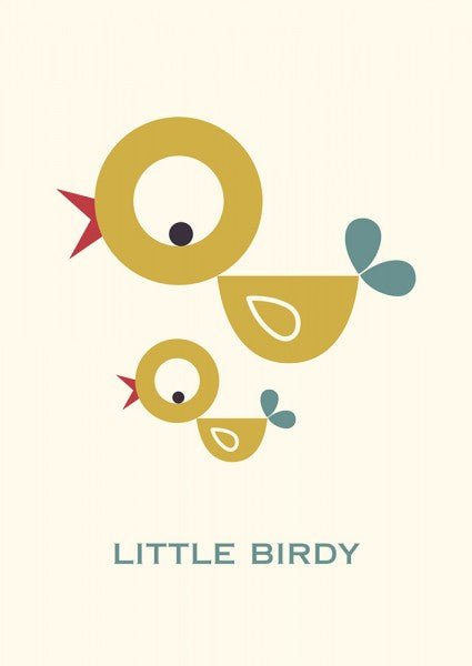 Postkaart - Little Birdy