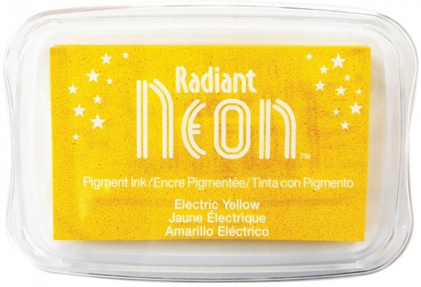 Inktkussen - Radiant Neon - Electric Yellow
