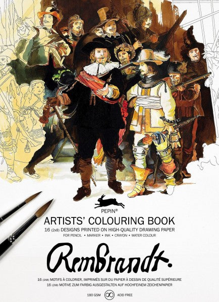 Artists' Colouring books - Rembrandt