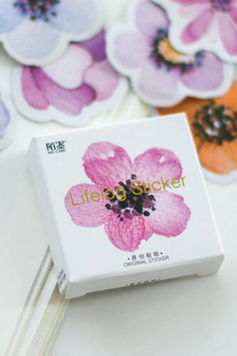 Stickerset - Flowers [45 stickers]