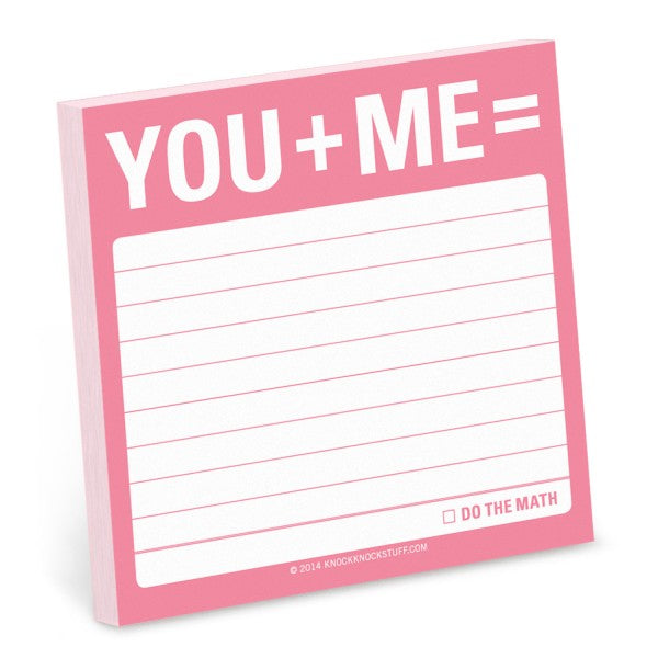 Sticky notes - You & Me