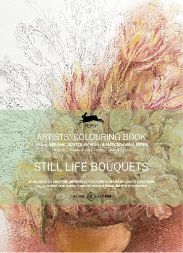 Artists' Colouring Books - Still Life Bouquets