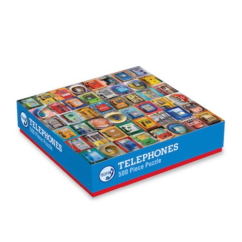 Puzzel - Telephones - 500pc