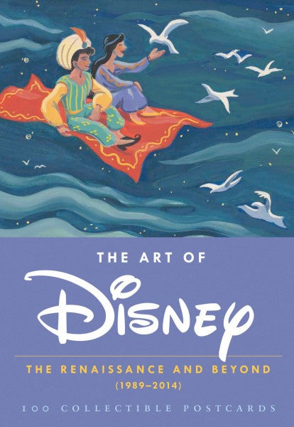 Kaartenset - The Art of Disney - The Renaissance and Beyond: 100 postcards
