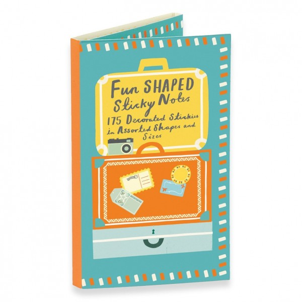 Sticky notes - Travel Fun Shaped