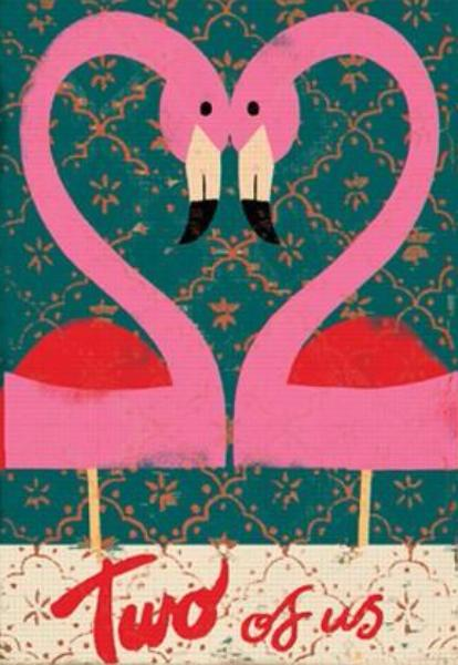 Wenskaart - Two of us - Paul Thurlby