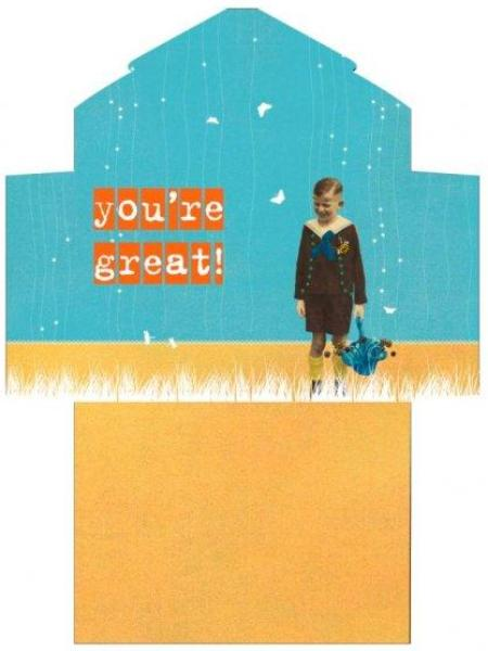 Uitklapkaart - You're great