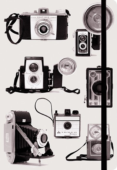 Notitieboek - Vintage Cameras Everyday Journal