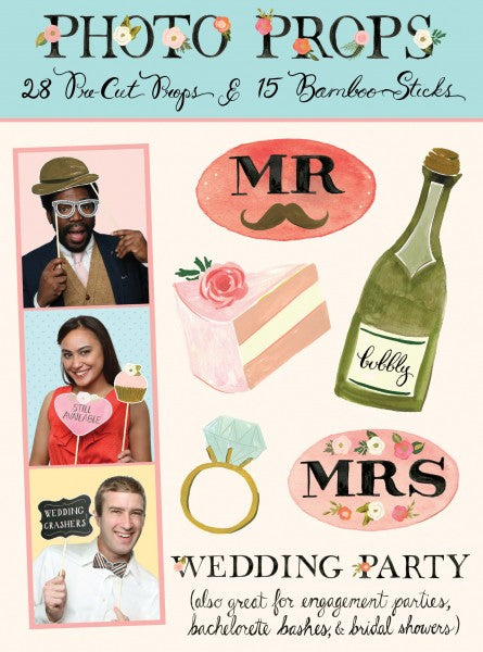 Photobooth props - Wedding Party