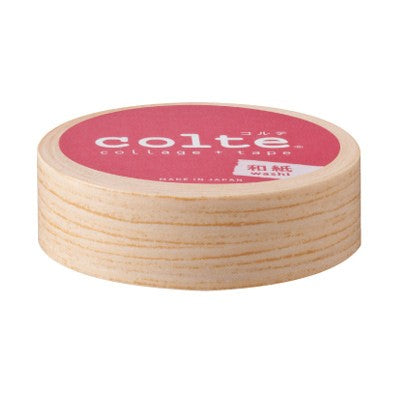 Masking tape 15mm - Wood Natural