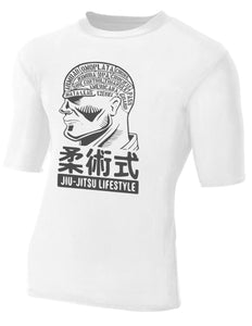 BJJ on the Brain Men's T-Shirt - Unparalleled Martial Arts