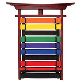 Martial Arts Motivating 10 Level Belt Display - Unparalleled Martial Arts