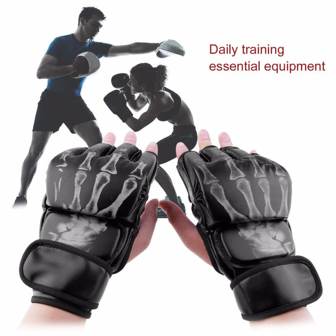 Skeleton MMA Gloves - Unparalleled Martial Arts