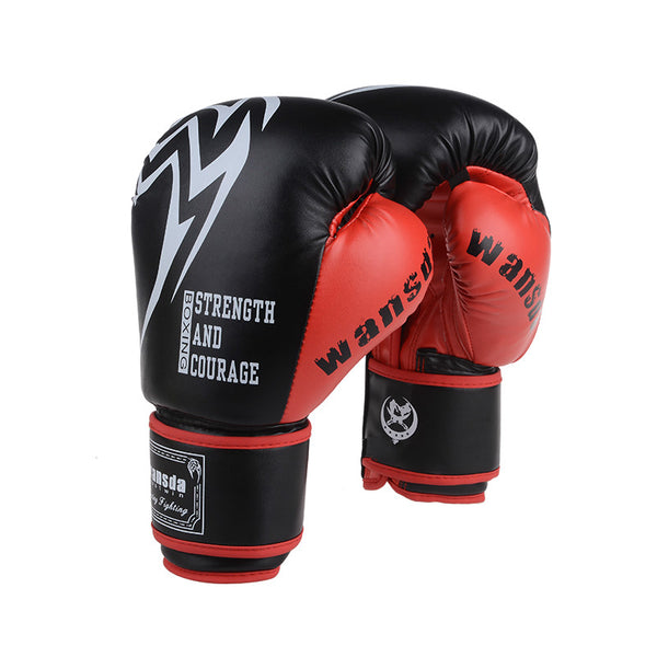 Strength and Courage Boxing Gloves