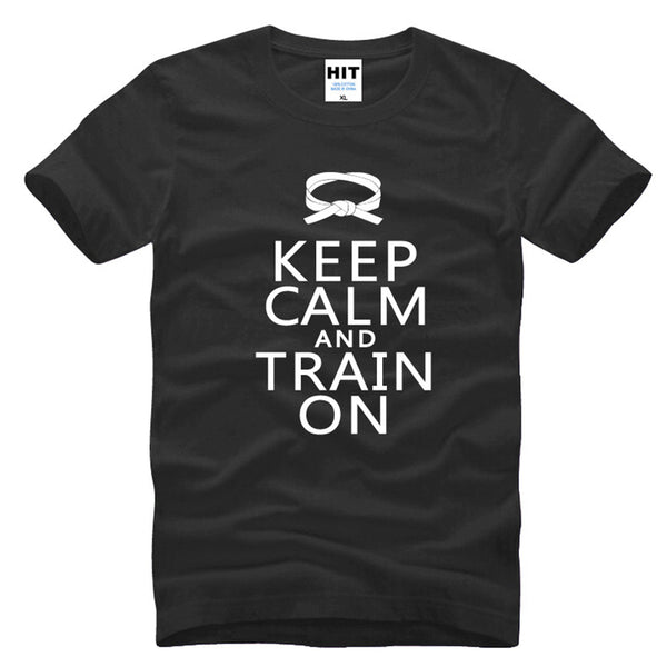 Keep Calm and Train On Tee