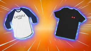 "T-Shirts Inspired By ""Dragon Ball Z: Light of Hope"" Fan Film!"