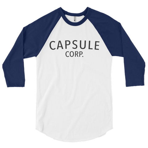 Trunks' Capsule Corp Baseball T Shirt