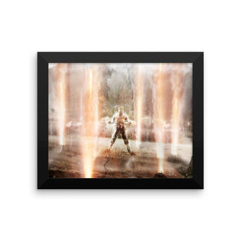 Dragon Ball Z: Light of Hope Framed Print - Gohan's Power