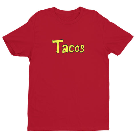 Krillin's Tacos Men's Short Sleeve T-shirt