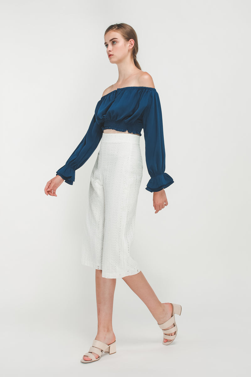 Crochet Culottes In White