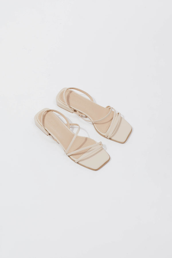 Emma Sandals in Beige