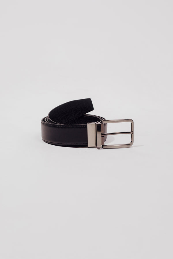 The Quinn Belt In Black - Men's