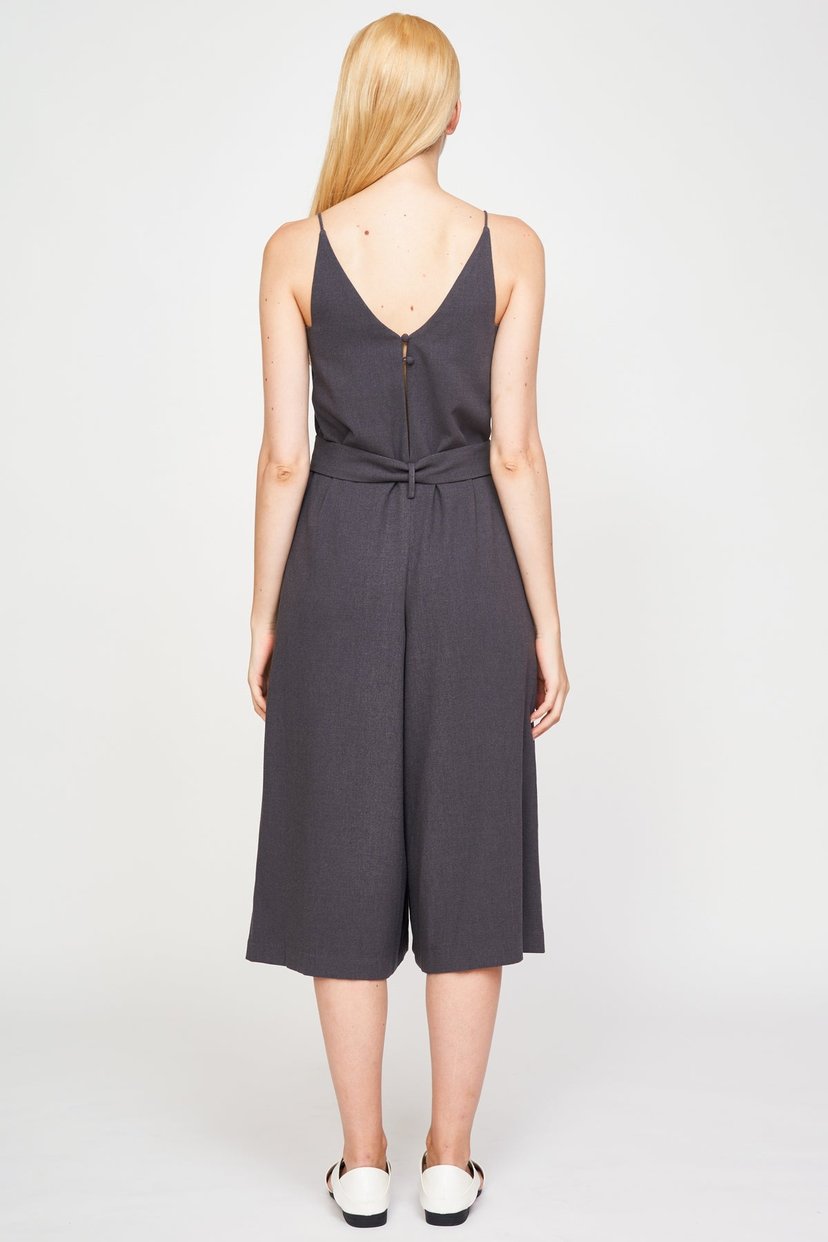 Culotte Jumpsuit In Grey