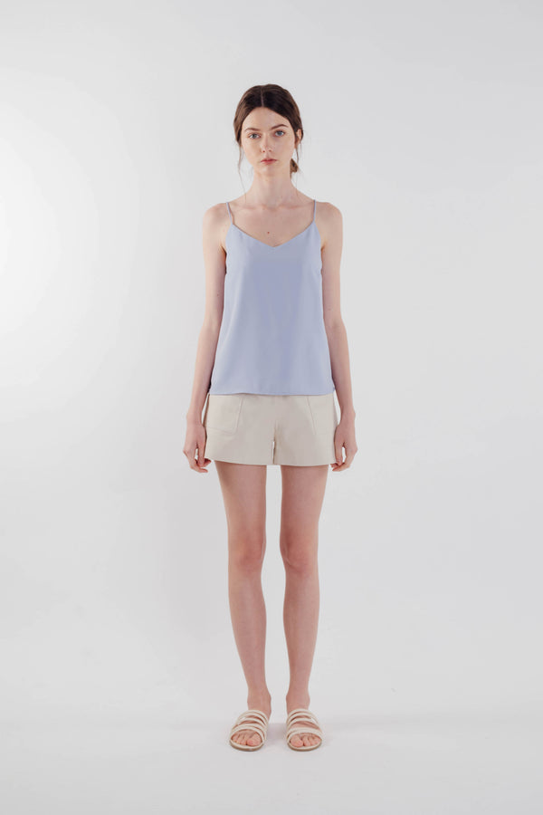V-neck Camisole in Sky