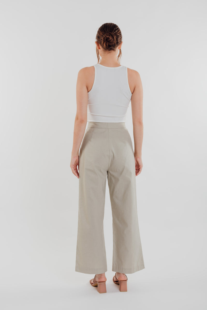 Linen Pants in Natural