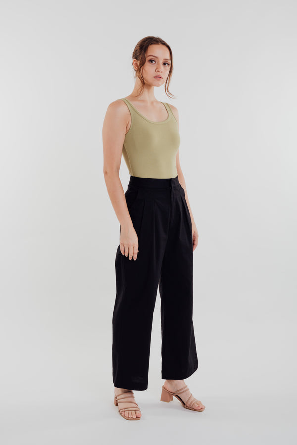 Linen Pants in Black