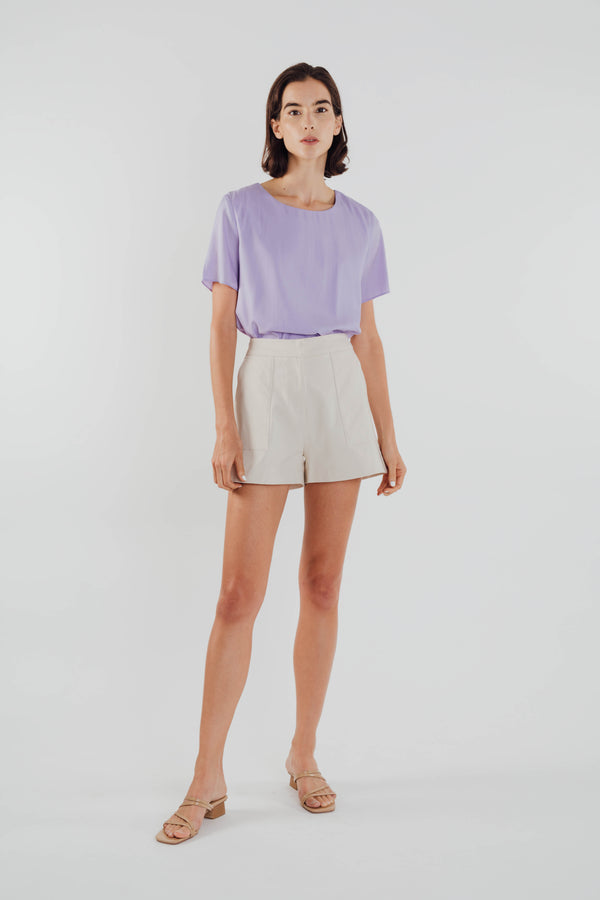 Basic Shift Top in Orchid
