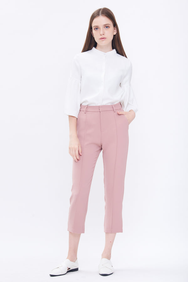 Tailored Pants In Blush