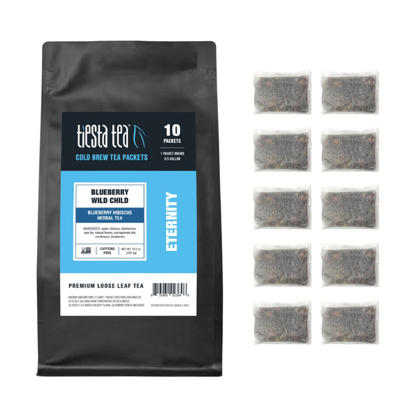 Blueberry Wild Child Cold Brew Tea Packets - Tiesta Tea