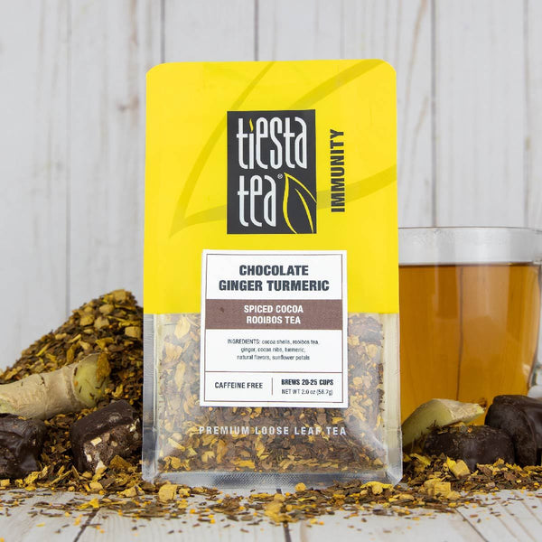 Chocolate Ginger Turmeric - Tiesta Tea
