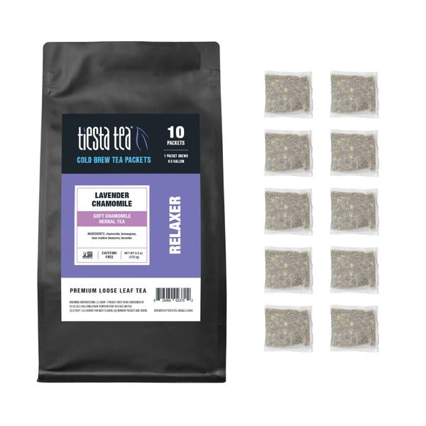 Lavender Chamomile Cold Brew Tea Packets - Tiesta Tea