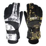 Winter Warm Windproof Ski Outdoor Sports Comfortable Snowboard Gloves - Free Shipping Pros