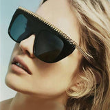 ROAYL GIRL New Brand Designer Women Sunglasses Oversize Acetate Squrae Sun glasses Sexy Shades ss044 - Free Shipping Pros