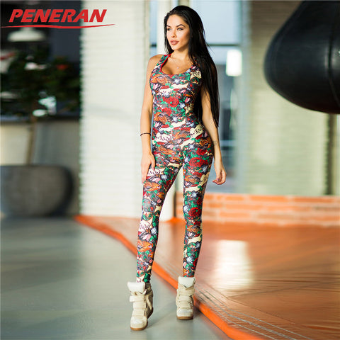 PENERAN Sexy Yoga Sport Sleeveless Backless Gym Running Fitness Workout Set - Free Shipping Pros
