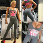 Sexy Sports Jumpsuit Quick Dry Hooded Leggings Workout Running Tights