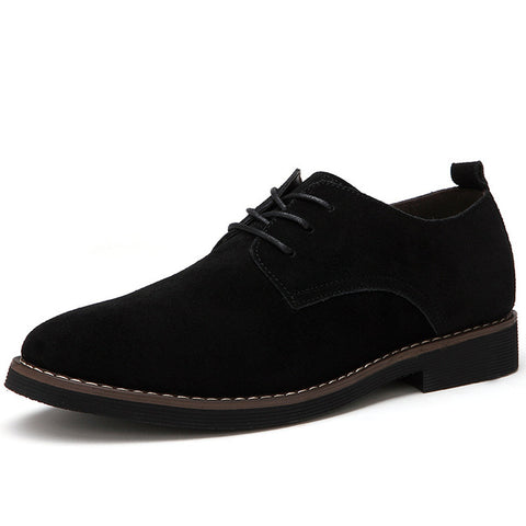Plus Size 45 Men Oxfords Faux Suede Leather Casual Fashion Oxford Shoes - Free Shipping Pros