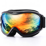 Winter Snow Sports Snowboard Ski Mask with Anti-fog UV Protection Double Lens for Men Women - Free Shipping Pros