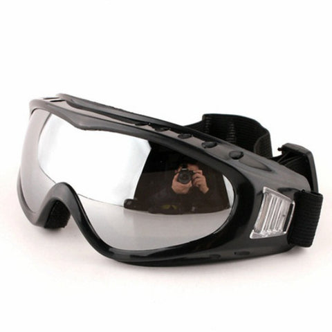 NEW Safurance Anti Impact Anti-UV Windproof Skiing Goggles Climbing Dust-proof Glasses For Motorcycle Riding Workplace Safety - Free Shipping Pros