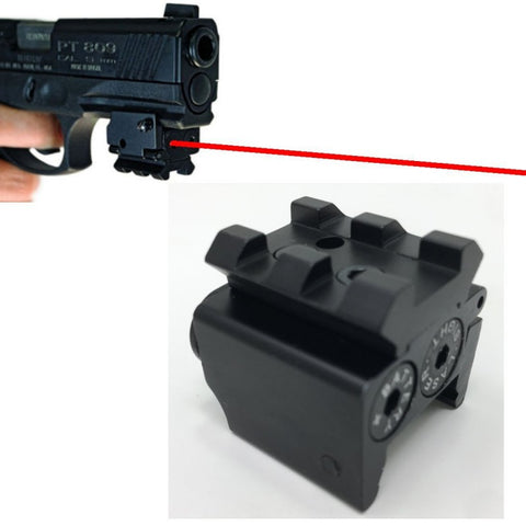 Red Dot Dovetail Small Laser Sight Red Dot Lazer Sight Pistol Tactical Airsoft Laser Sight - Free Shipping Pros