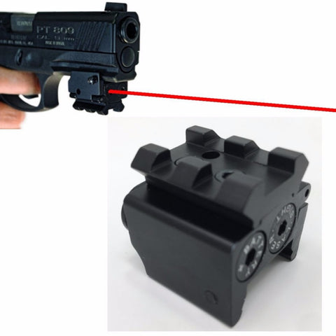 Mini Red Dotted Dovetail Small Laser Sight Red Dot Lazer Sight Pistol Tactical Sights Airsoft Laser Sight - Free Shipping Pros