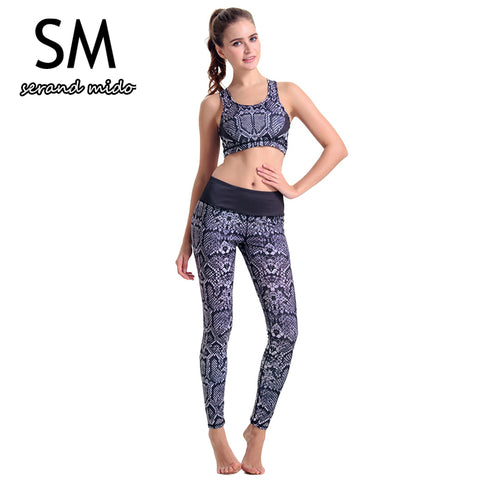 New Women's Yoga Set Sexy Yoga Fitness Sports Meditation Aerobics Workout Clothes - Free Shipping Pros