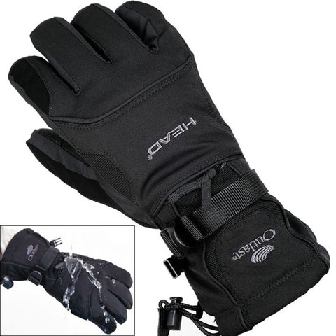Ski Snowboard Snowmobile Motorcycle Riding Winter Gloves Windproof Waterproof Unisex - Free Shipping Pros